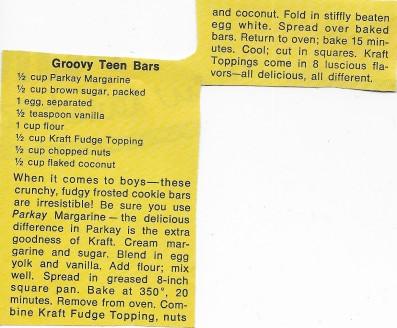 Groovy Teen Bars
