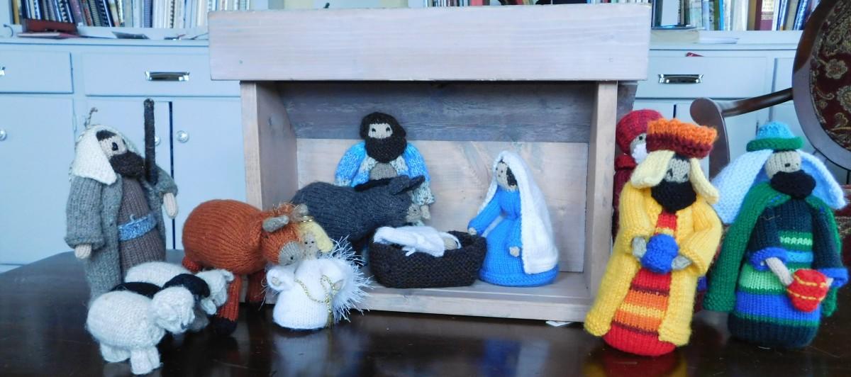 Knit-ivity Christmas Eve