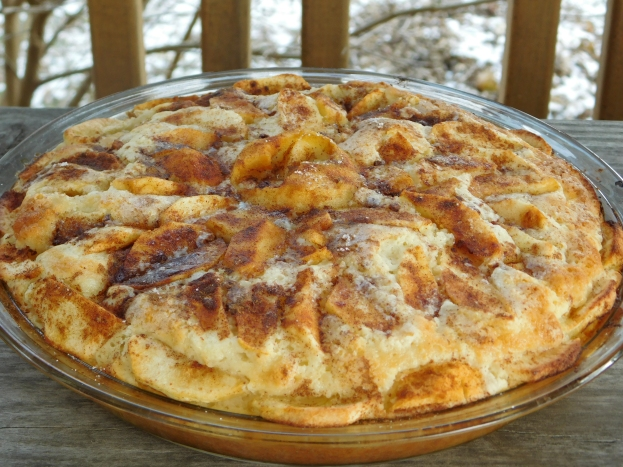 Apple Breakfast Pie
