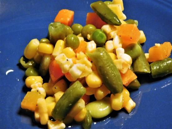 Marinated Mixed Veggie Salad